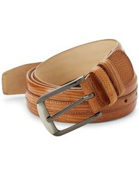 Mezlan - Iguana Leather Belt - Lyst