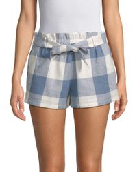 Lucca Couture - Catalina Paper Bag Shorts - Lyst