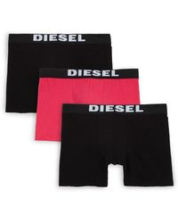 DIESEL - Umbx Sebastian 3-pack Boxer Briefs - Lyst