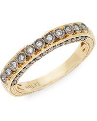 Le Vian - Chocolatier® 14k Honey Goldtm & Chocolate Diamond® Ring - Lyst