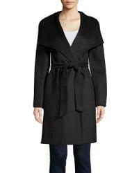 T Tahari - Ellie Belted Wrap Coat - Lyst