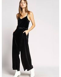 Sanctuary Clothing - One Night Only Velvet Jumpsuit - Lyst