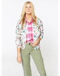 Sanctuary Clothing - In Bloom Zip Up Jacket - Lyst