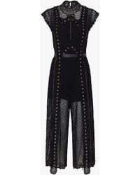 Sass & Bide - Stargazer Knit Jumpsuit - Lyst
