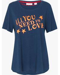 Sass & Bide - All You Need Is Love Tee - Lyst
