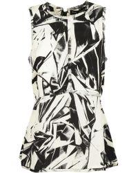 Proenza Schouler - Sleeveless Printed Top - Lyst