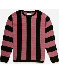 Saturdays NYC - Everyday Vert Horizontal Sweater - Lyst