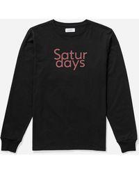 Saturdays NYC - Long Sleeve Tee - Lyst