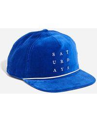 Saturdays NYC - Stanley Naval Snap Hat - Lyst