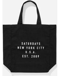 Saturdays NYC - Established Usa Tote - Lyst