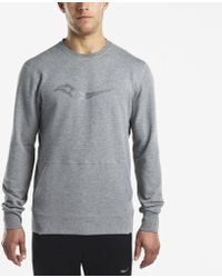 Saucony - Life On The Run Cooldown Long Sleeve - Lyst