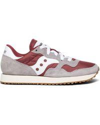 Saucony Dxn Vintage Sneakers Grey/maroon