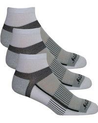 Saucony - Inferno Quarter 3-pack Socks - Lyst