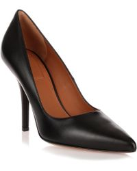 Givenchy - Infinity 100 Black Leather Pump - Lyst