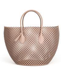 07cb1b5a569b Alaïa - Latifa Medium Pochon Lux Tote Bag - Lyst