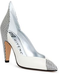 Givenchy - White 95 Leather Pumps - Lyst