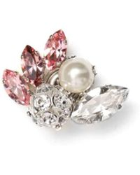 Jimmy Choo - Spring Pink Crystal Jewelled Button Us - Lyst