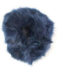 Guess - Faux Fur Collar - Lyst