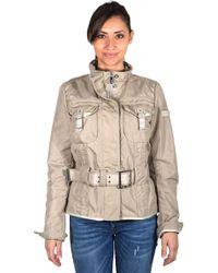 Peuterey - Short Jacket With Double Belt - Lyst