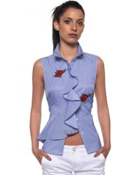 Guess - Sleeveless Blouse - Lyst
