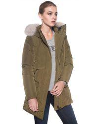 Peuterey   Regina Gb Fur Coat   Lyst