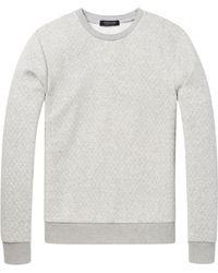 Scotch & Soda - Crew Neck Sweatshirt - Lyst