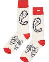 Scotch & Soda | Patterned Socks | Lyst