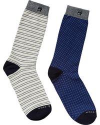 Scotch & Soda | 2-pack Patterned Socks | Lyst