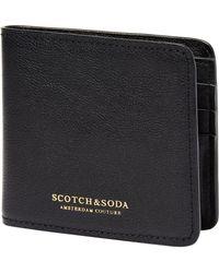 Scotch & Soda - Classic Billfold Wallet - Lyst