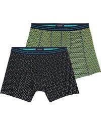 Scotch & Soda - 2-pack Printed Boxer Shorts - Lyst
