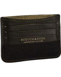 Scotch & Soda - Combined Card Holder - Lyst