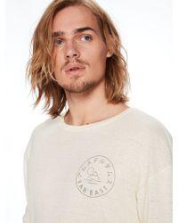 Scotch & Soda - Far East Printed T-shirt - Lyst