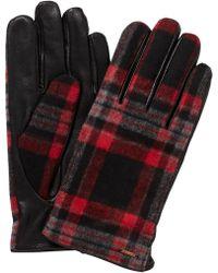 Scotch & Soda - Checked Gloves - Lyst