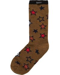 Scotch & Soda - Star Jacquard Socks - Lyst