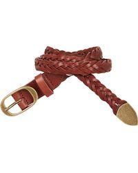 Scotch & Soda - Braided Leather Belt - Lyst