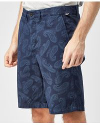 Pretty Green | Foxley Paisley Short | Lyst