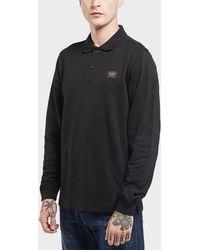 Paul And Shark - Pique Long Sleeve Polo Shirt - Lyst