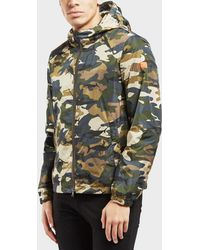 Paul And Shark - Shark Camoflauge Jacket - Online Exclusive - Lyst