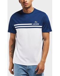 Lacoste - Retro Block Short Sleeve T-shirt - Lyst
