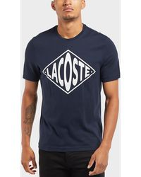 Lacoste - Retro Logo Short Sleeve T-shirt - Lyst