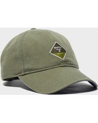1be89a82634 Barbour Wool Crieff Flat Cap in Green for Men - Lyst