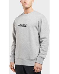 Originals Men In Adidas Sweatshirt For Crew Black Lyst RaHqP5Aw