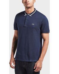 Lacoste | Tonal Croc Pique Short Sleeve Polo Shirt | Lyst