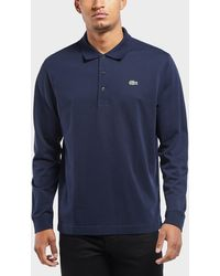 Lacoste - Alligator Long Sleeve Polo Shirt - Lyst