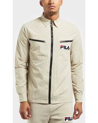 Fila - Condor Long Sleeve Overshirt - Lyst