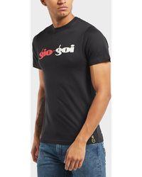 Gio Goi - Split Logo Short Sleeve T-shirt - Online Exclusive - Lyst