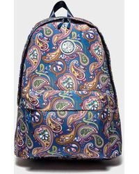 Pretty Green - Paisley Print Backpack - Lyst