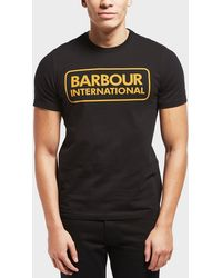 Barbour - International Essential Logo Short Sleeve T-shirt - Lyst