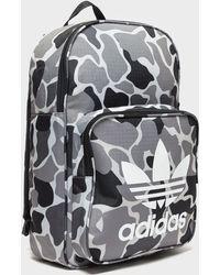 582984baf4c8 Adidas Originals Classic Camo Backpack for Men - Lyst