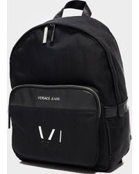 Versace | Linea Logo Backpack | Lyst